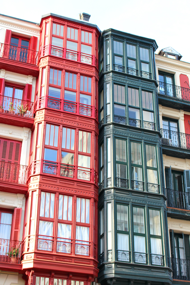 Beautiful architecture in Bilbao, Spain - London travel blog