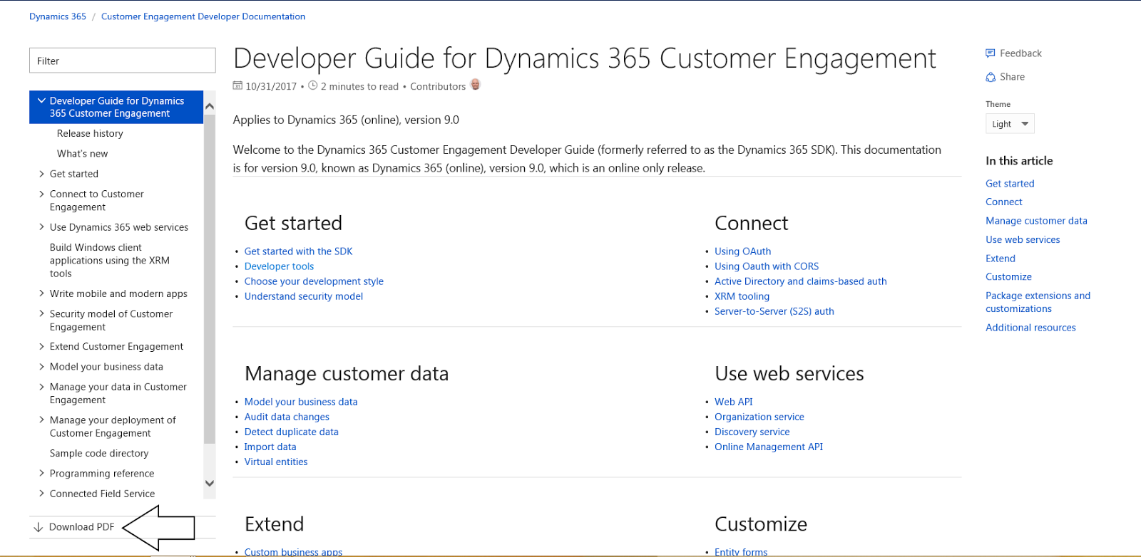 JOPX on CRM, Cloud and Analytics: The Dynamics 365 CE SDK is