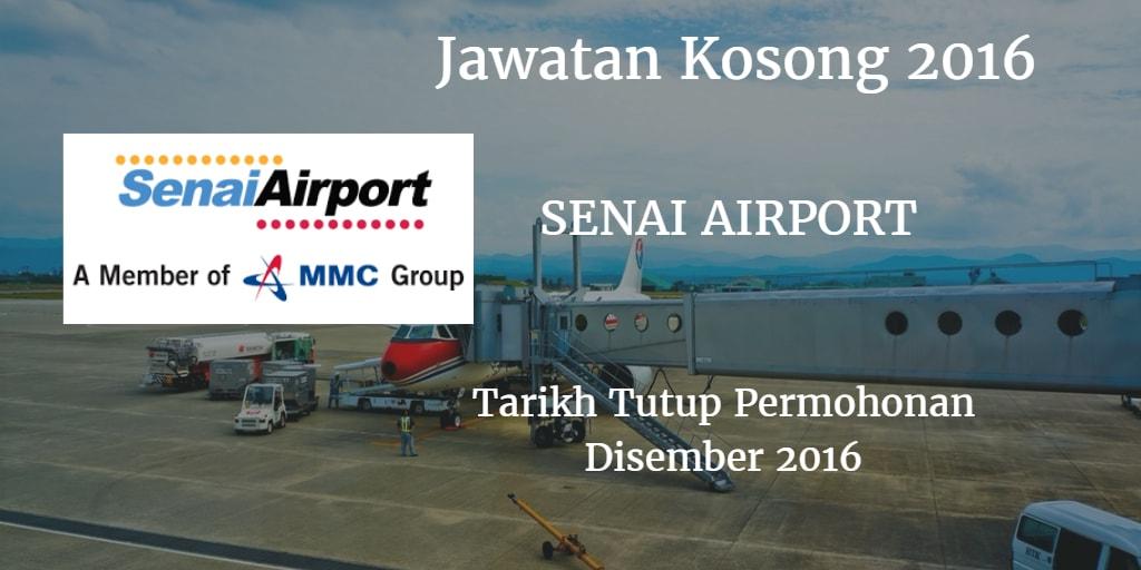 Jawatan Kosong SENAI AIRPORT Disember 2016