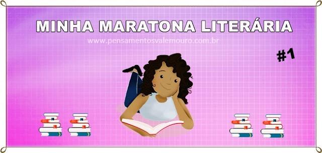 Maratona, leitura, desafio literário2016. leituras, blog literário, vanessa Vieira
