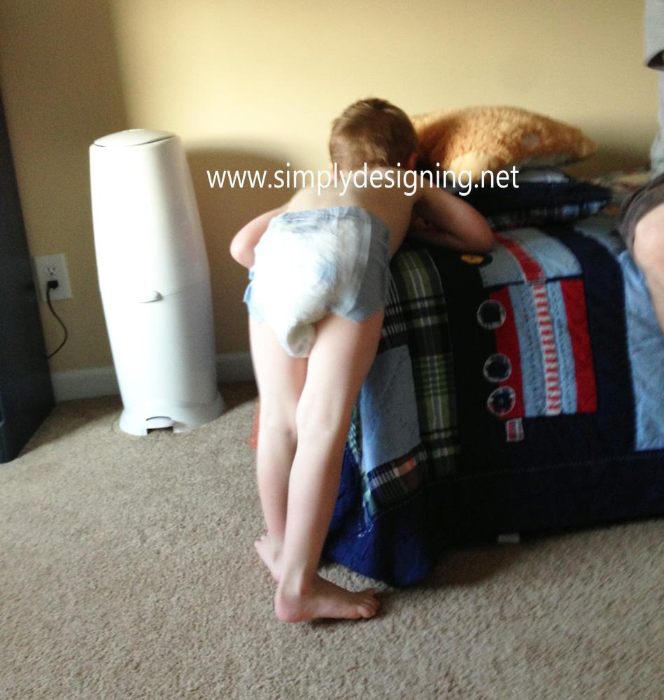 Boy Wet Goodnites Diapers