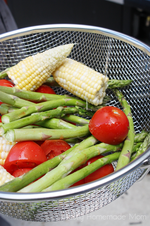 grilled vegetable couscous salad