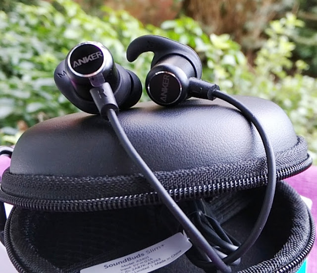 6d9c89c4383 The SoundBuds Slim+ feature IPX-5 water resistant protection on the outside  as well as water-repellent nano-coating in the inside of the earphones to  repel ...