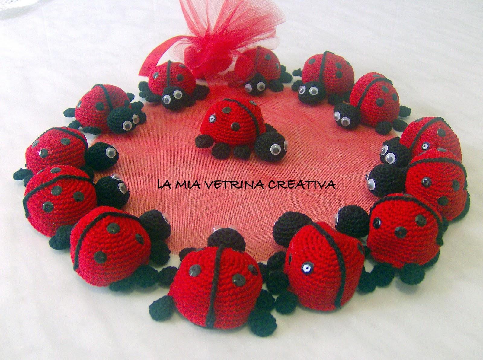 Favoloso LA MIA VETRINA CREATIVA: Bomboniere per Laurea- Coccinelle  EY33