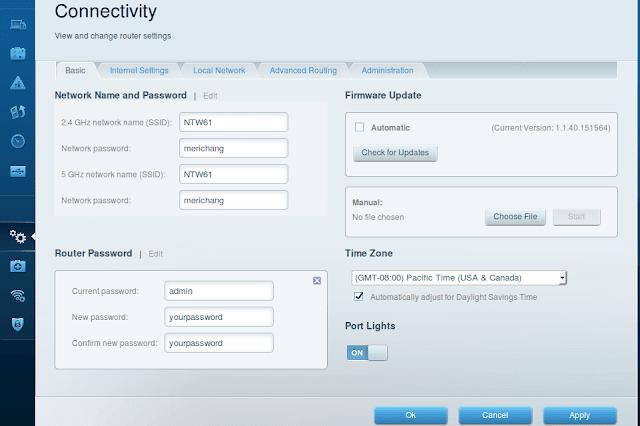 Basic Setting Router Cisco Linksys Smart Wifi