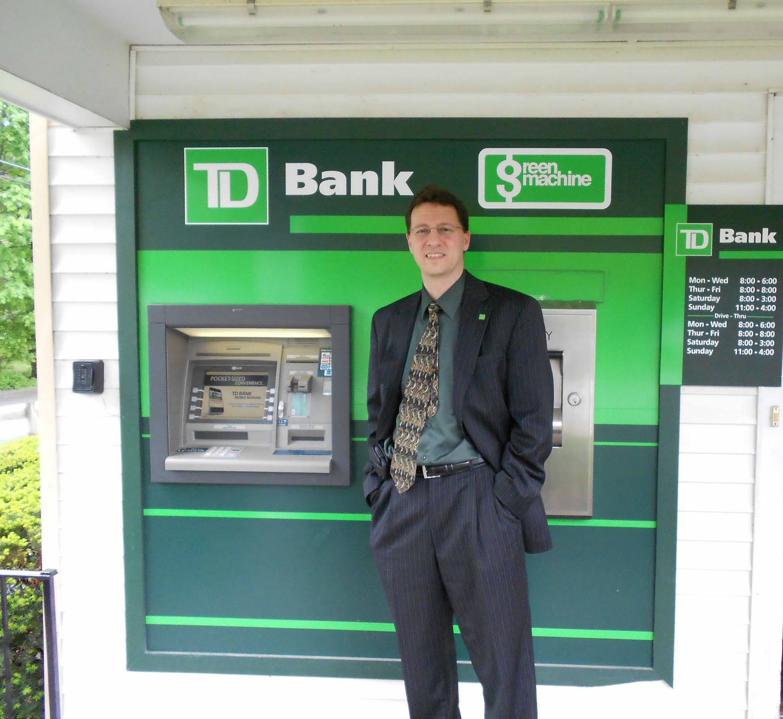 closest td bank branch