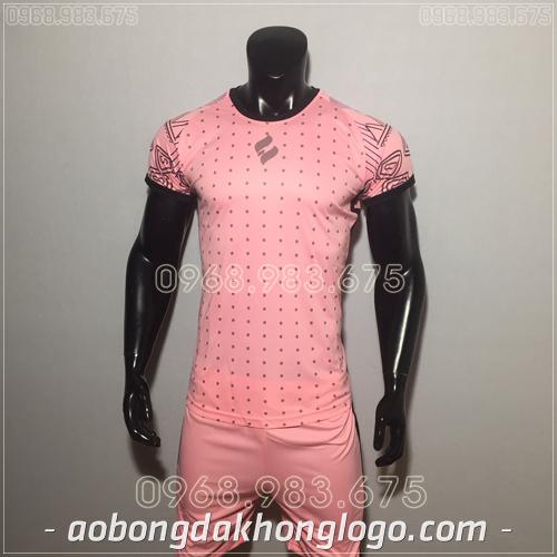 Áo bóng đá không logo Egan HQN Ala màu hồng