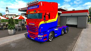 Strong Warrior skin for Scania RJL