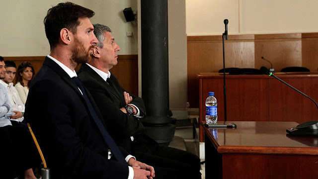Condenan a Messi a 21 meses de prisión por fraude fiscal