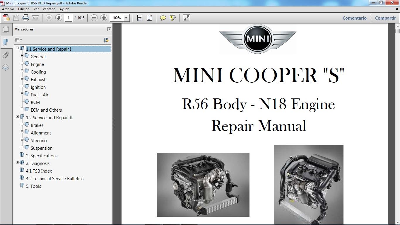 Manuales De Taller De Mini Cooper