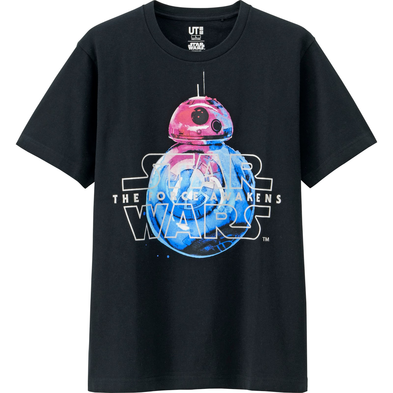 a0af266d Star Wars fans will surely love the new designs of the graphic t-shirts  which are made of high-quality materials. These are best paired with any  UNIQLO ...