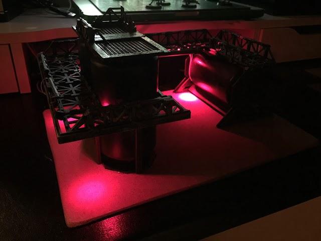 What's On Your Table: Custom LED Terrain
