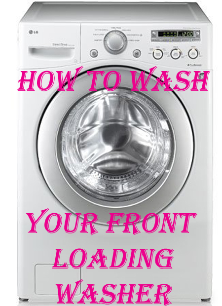 How To Clean Your Front Loading Washer and Get Rid of That