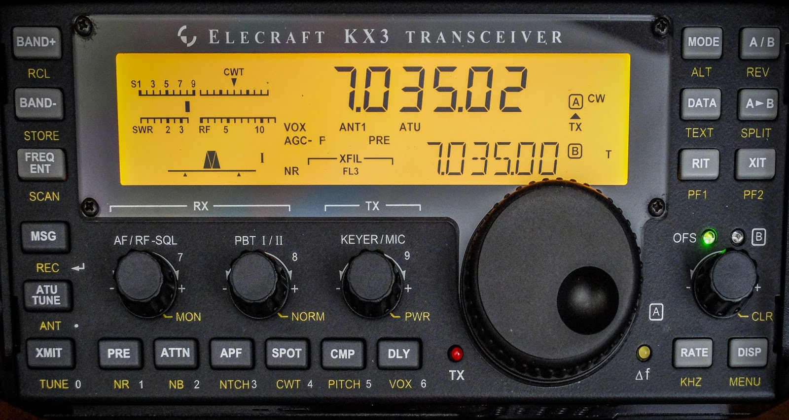 My TenTec Eagle sounds better than my Elecraft KX3 - Ham Radio - QRP