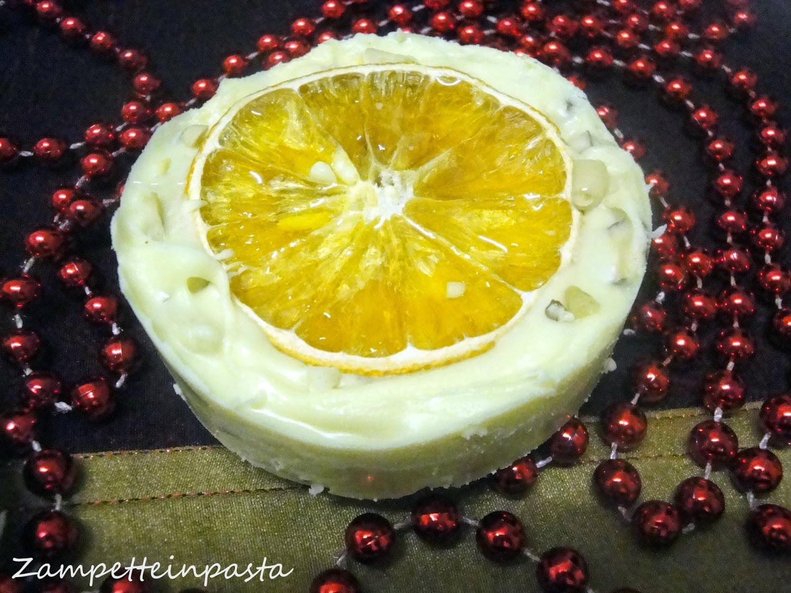 Torrone all'arancia con frutta secca - Torrone fatto in casa