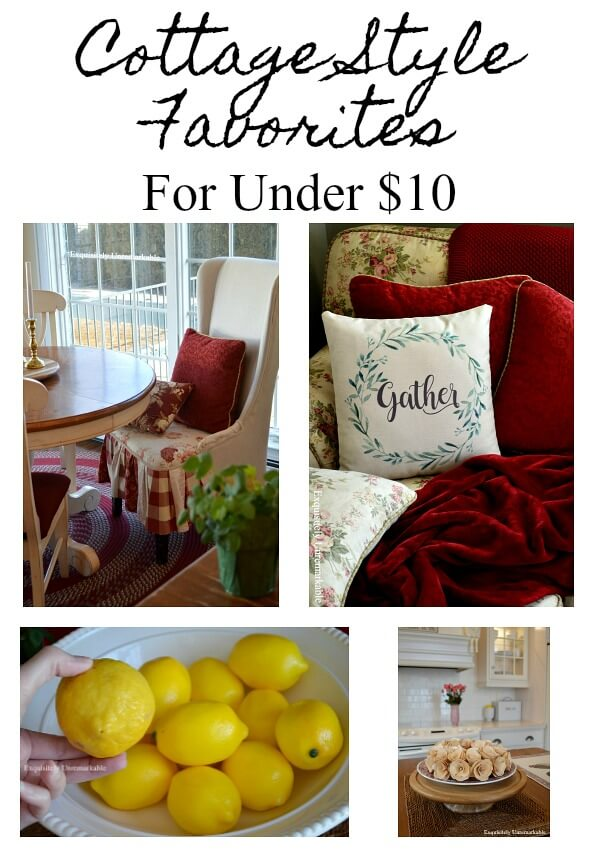 A Few Of My Favorite Cottage Style Things  For Under $10