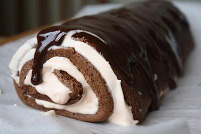 Gluten-free, nut-free cake roll