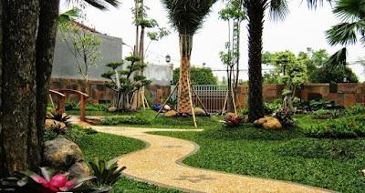 Taman Modern Minimalis - Tukang Taman Surabaya II