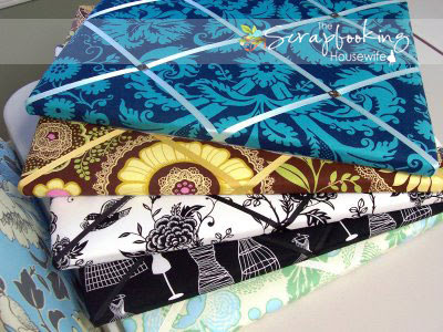 Quilted French Memory Board DIY Tutorial