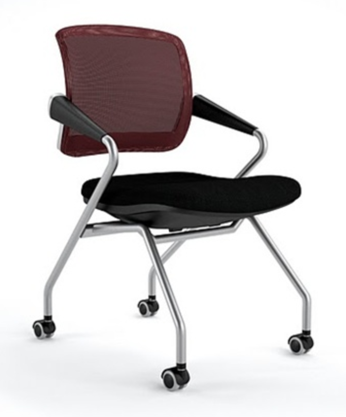 Mayline Valore Mesh Training Chair