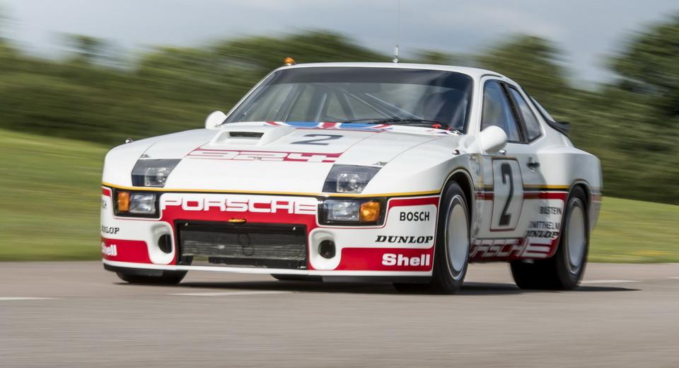 Restored Porsche 924 Carrera Gtp Stars At Silverstone Classic