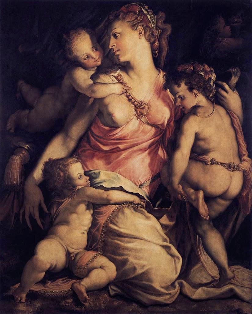 Cecchino del Salviati - La caridad