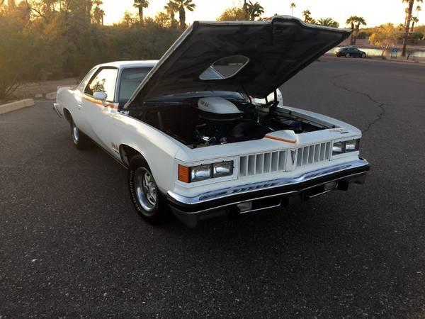 Ultra Rare 1977 Pontiac Can Am Auto Restorationice