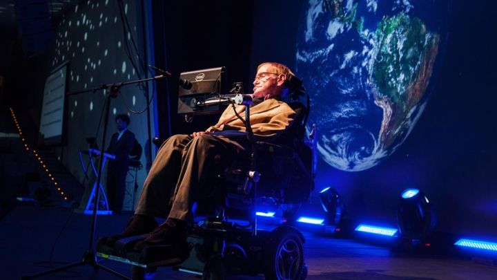 Stephen Hawking's words towards nearest black hole