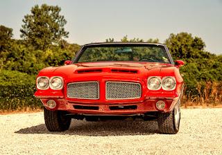 1971 Pontiac LeMans Sport Convertible Front