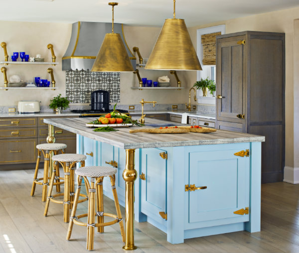5 Key Components Of A Mellow Beach Kitchen: Ciao Newport Beach: Beachy Keen, Anthropologie Style