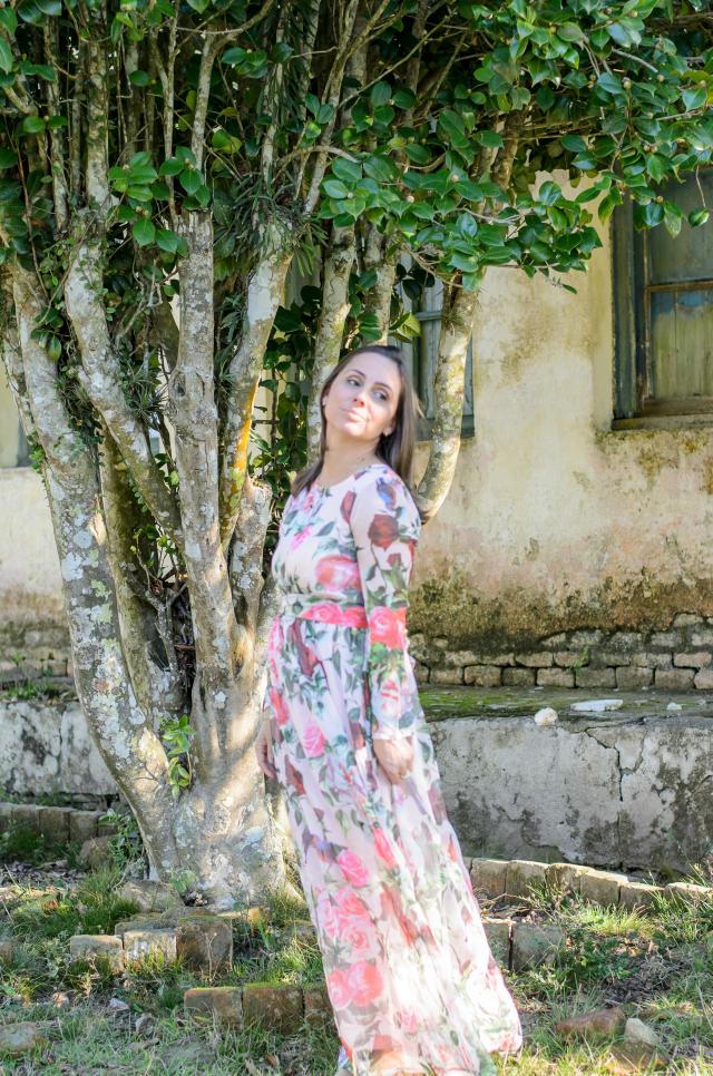 Mais do vestido floral