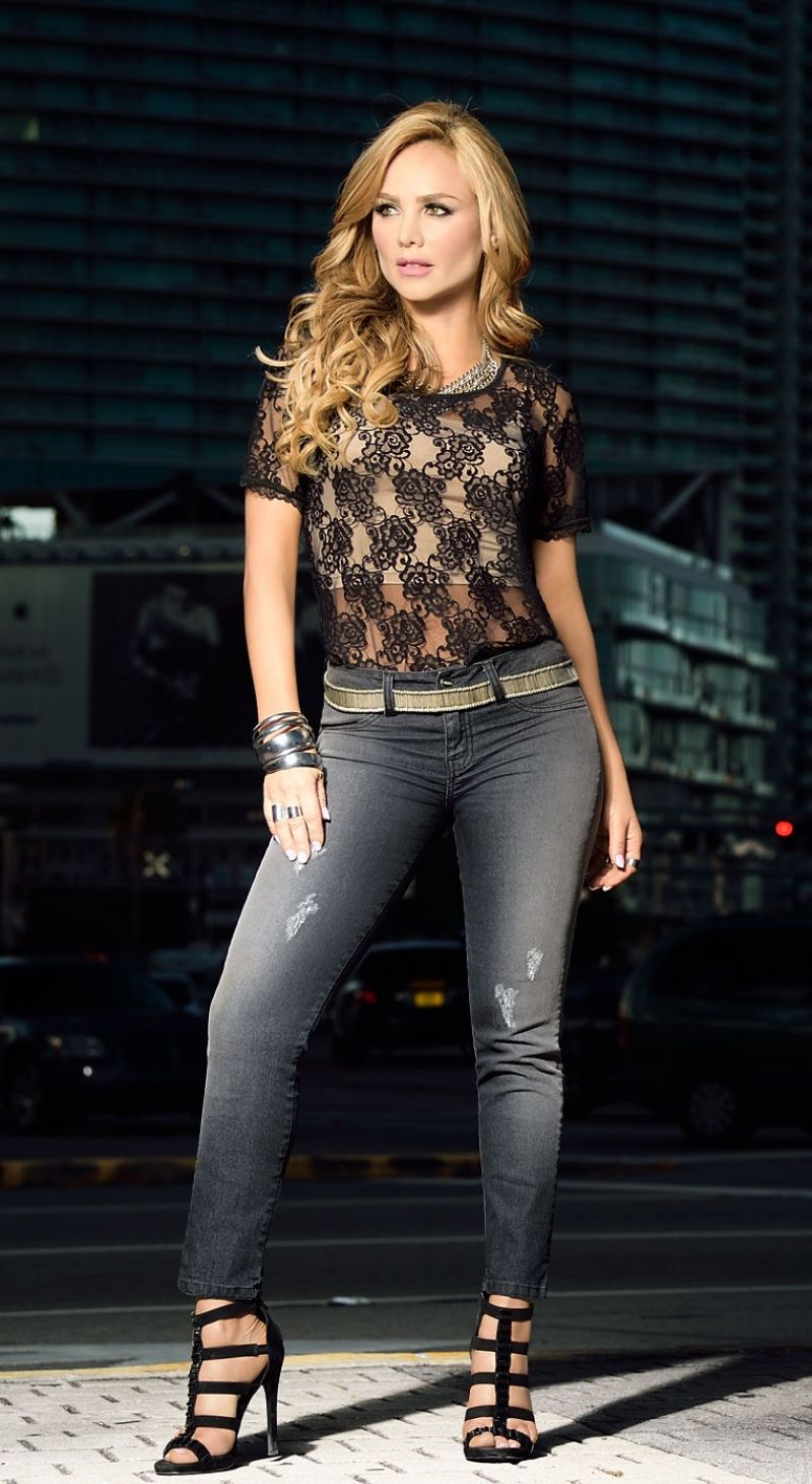 Colombian model & actress Ximena Cordoba Photo shoot for Carmel Summer 2016