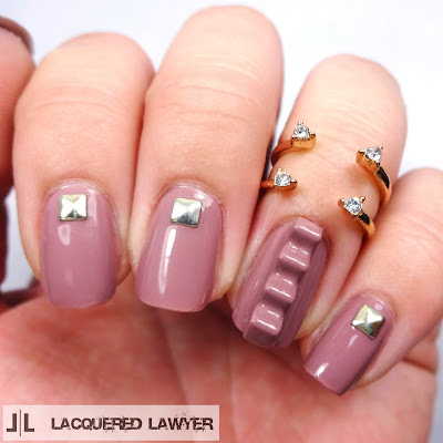 Mauve Maniac Nails