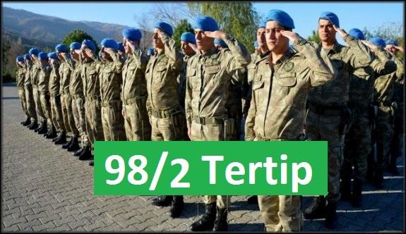 98/2 tertip askerlik yerleri