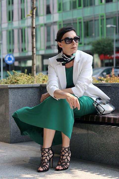 Sposób na zieloną sukienkę