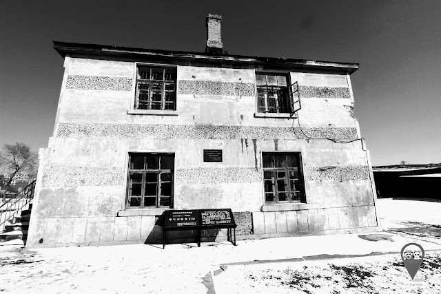 Former site of poison gas lab at Unit 731 Museum in Harbin, Heilongjiang province of China