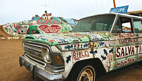 Salvation Mountain Salton Sea Niland California