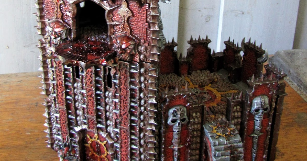 Brush and miniature torture chaos dreadhold overlord bastion for Chaos overlords