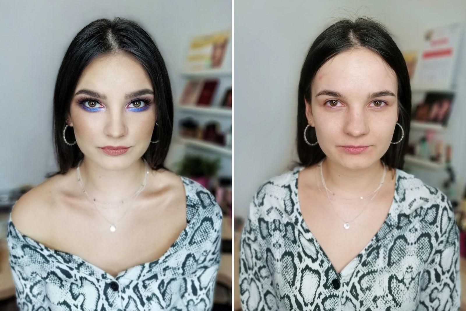 metamorfoza makijaż