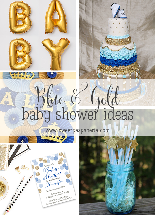 planning a baby shower for a sweet baby boy on the way make it fit for