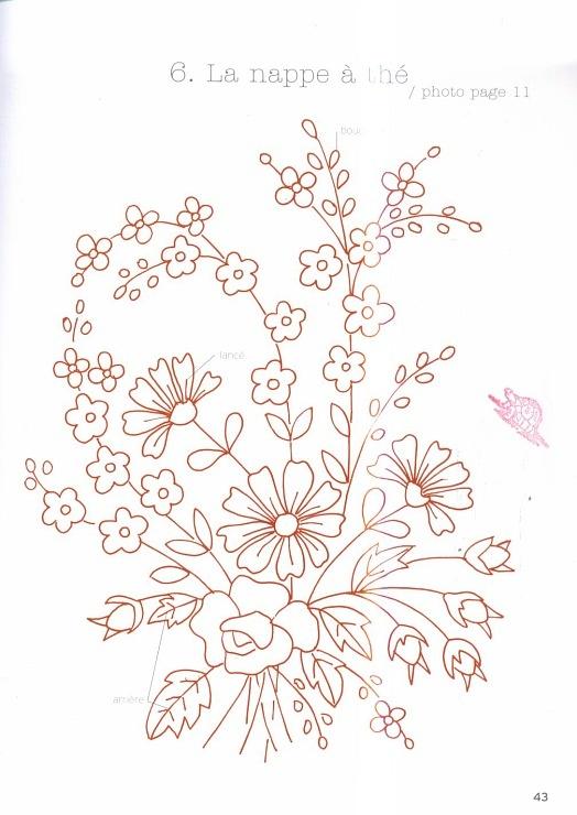 Dibujos Para Bordar Faciles Imagui