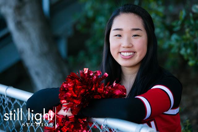 still light studios best sports school senior portrait photography bay area peninsula redwood city cheer team spirit squad
