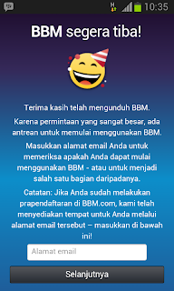 Daftar BBM di Android
