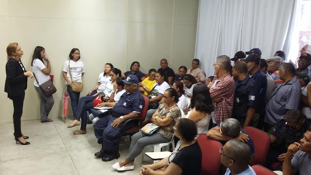 Funcionários públicos do município de Goiana, lotarão a sede do MPPE para reivindicar seus direitos