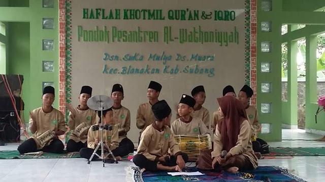 Ponpes al wathoniyah desa muara blanakan subang