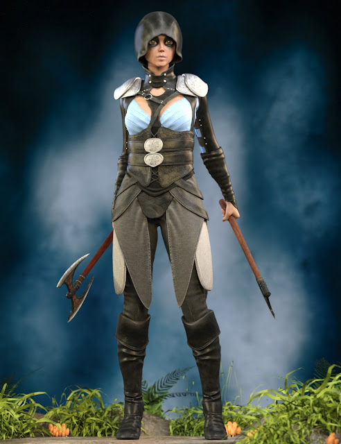 Spasimira Outfit for Genesis 3 Female