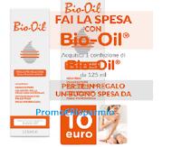 Logo Promozione ''Fai la spesa con Bio-Oil'': ricevi sempre un buono spesa da 10€ come premio certo