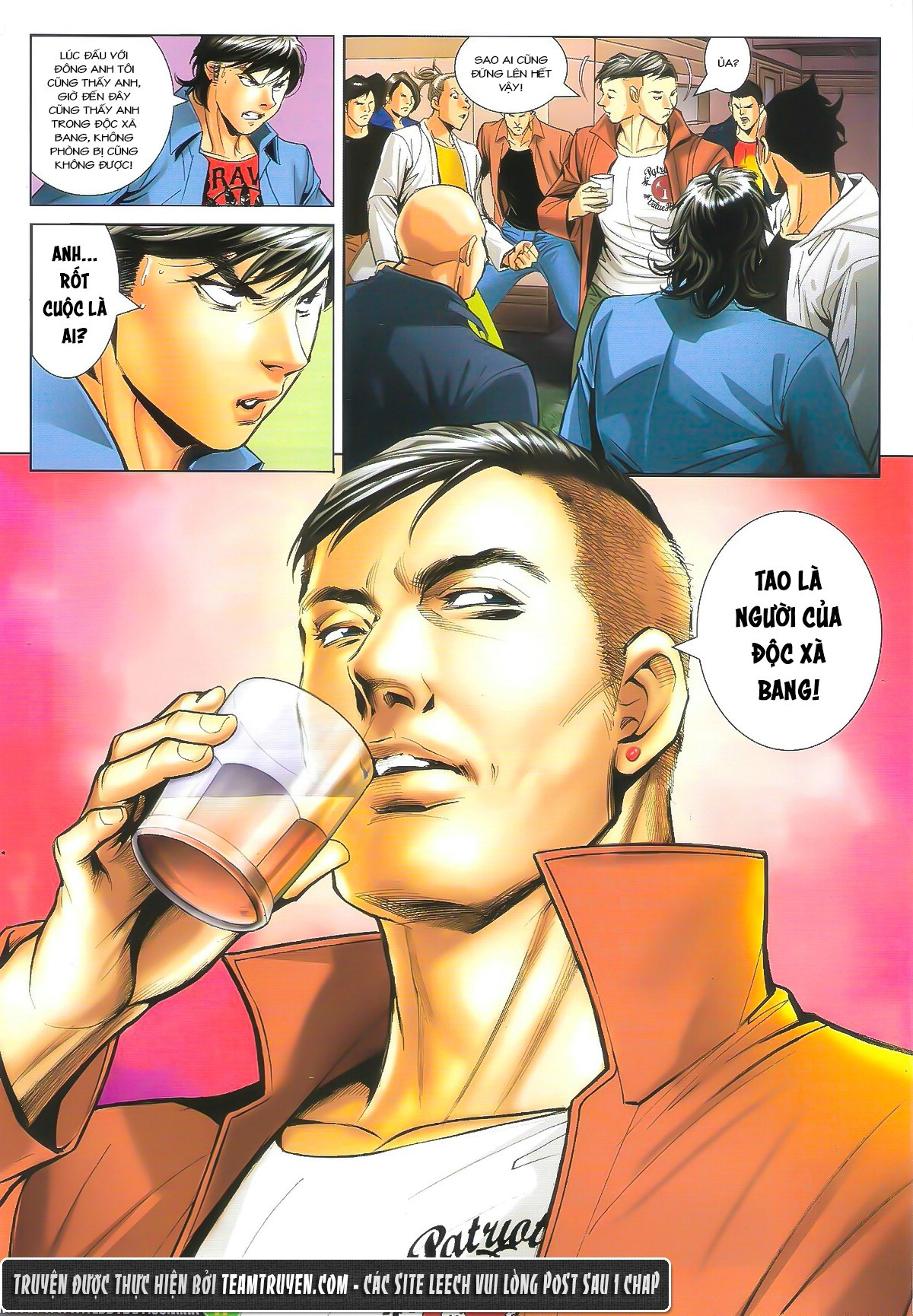 Người Trong Giang Hồ chapter 1610: a khắc giá lâm trang 16