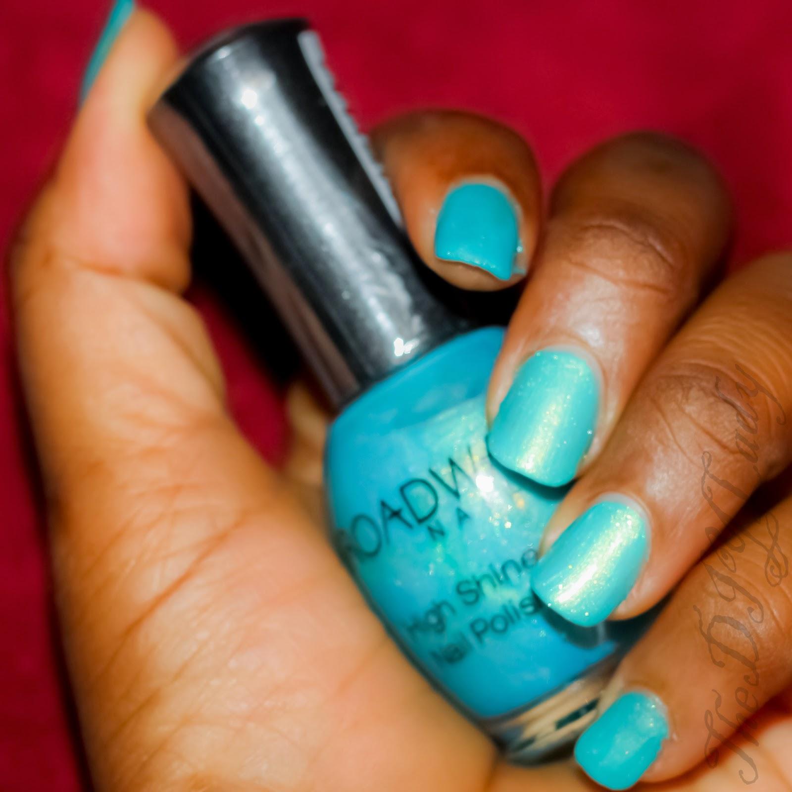 Swatches and Review: Broadway Nails High Shine Nail Polish ...