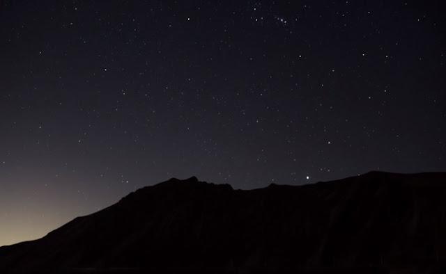 Paisajes, noche, estrellas